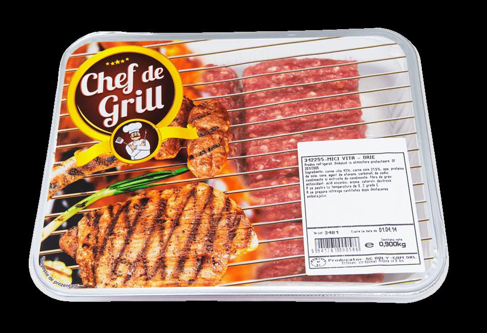 Chef de Grill - Mici vita oaie