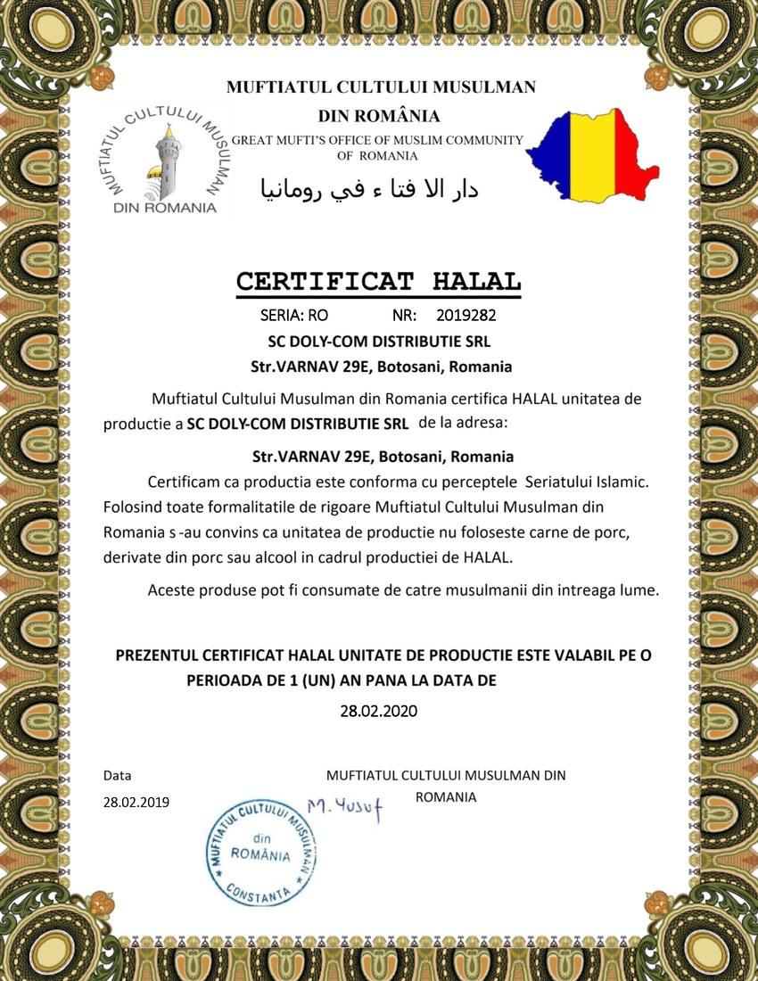 Certificat-HALAL