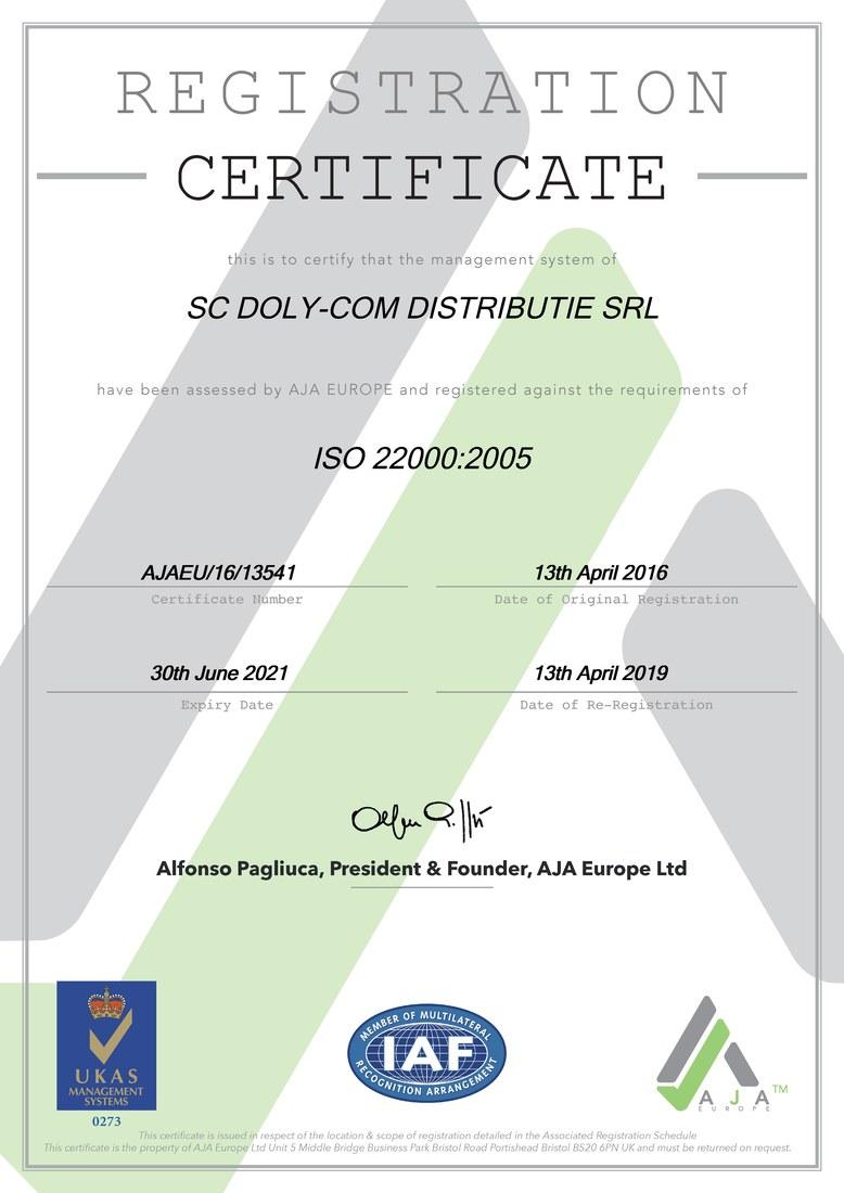 Certificat-ISO-22000-2005